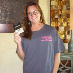 Kathy won a $75.00 gift card to Dicks Sporting Goods