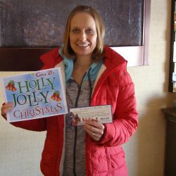 Lynn and a guest won tickets to see a Christmas Show with dinner to Circa 21